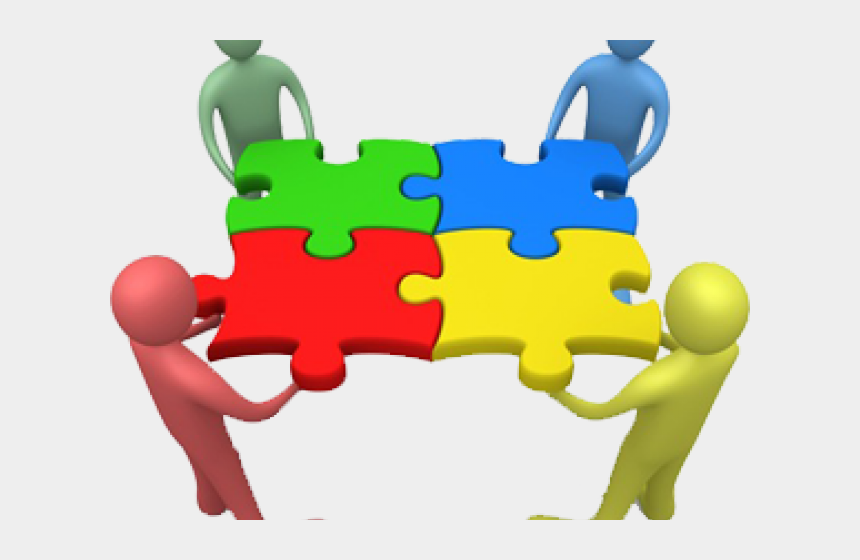 teamwork clipart, Cartoons - Human Behavior In Organization Background