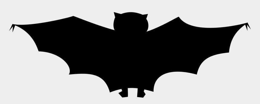 bat clipart, Cartoons - Plain Black Bat Clipart By Stevepetmonkey - Lilieci De Halloween