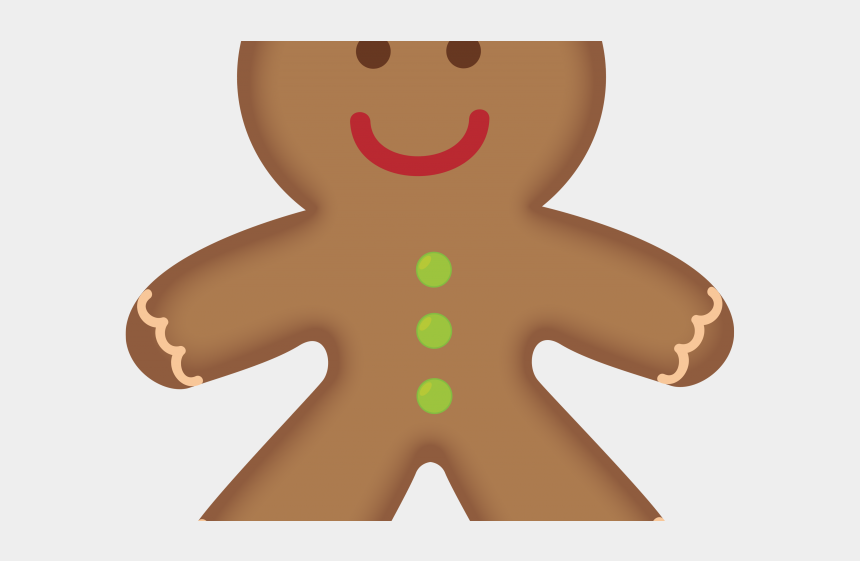 cookie clipart, Cartoons - Cookie Clipart Ginger Bread - Gingerbread Man Clipart Png