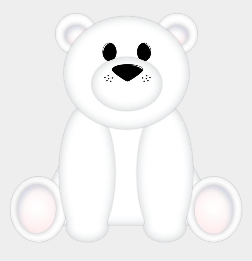 polar bear clipart, Cartoons - B *✿* A Cute Winter Polar Bears, Clipart, Winter Time - Teddy Bear