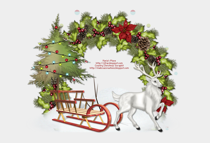 country christmas clip art, Cartoons - Country Christmas Png