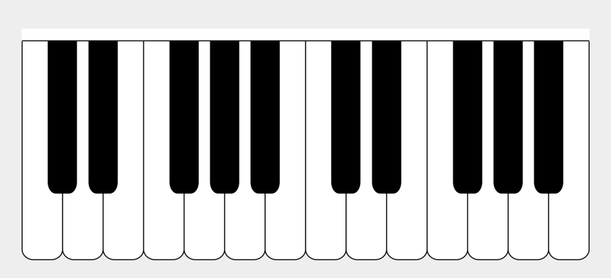 piano clipart free, Cartoons - Digital Piano Electronic Musical Instruments Musical - Piano Keyboard Silhouette