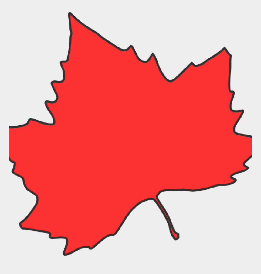 red fall leaf clip art, Cartoons - Maple Leaf Clipart Clip Art At Clker Vector Online - Fall Leaves Clip Art Red
