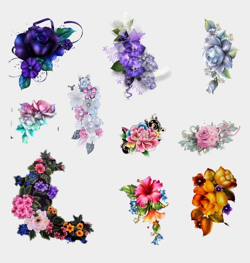 flower garland clip art, Cartoons - #border #corner #flowers #garland #frame #edit #freetoedit - Artificial Flower
