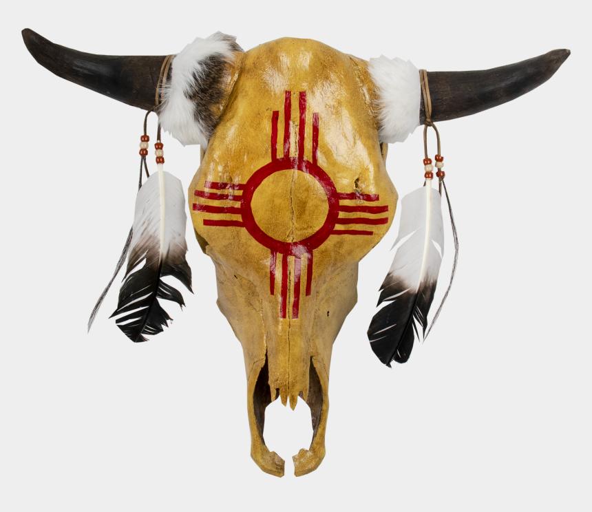 bull skull clip art, Cartoons - Painted Cow Skulls