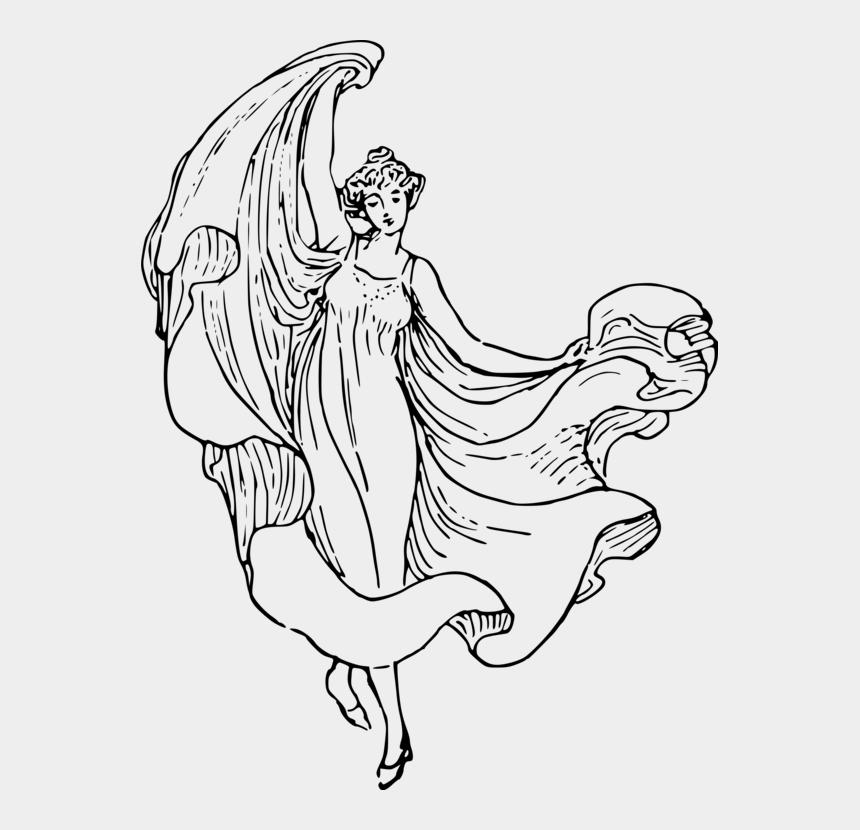 clip art lady, Cartoons - Art,monochrome Photography,shoe - Free Hand Dance Drawing