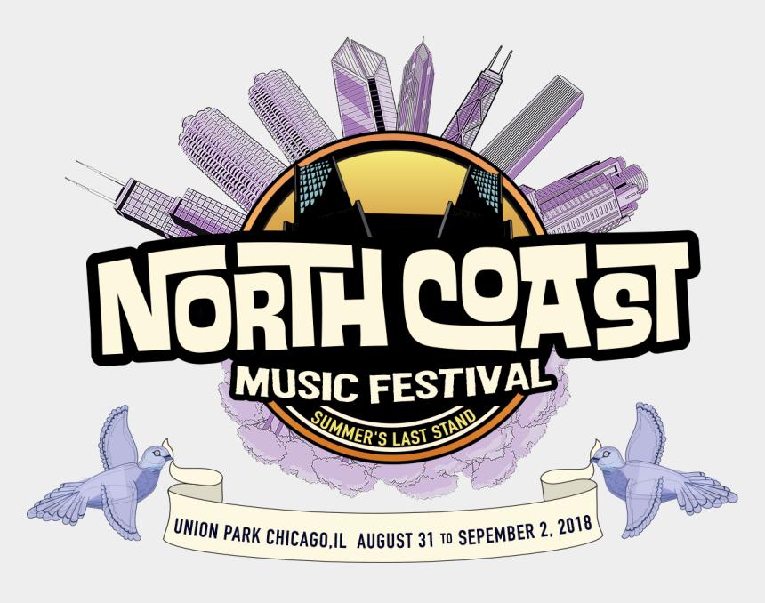 music stand clip art, Cartoons - North Coast Music Festival Logo