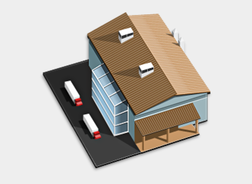 office building clip art, Cartoons - 3d Building Icon Png