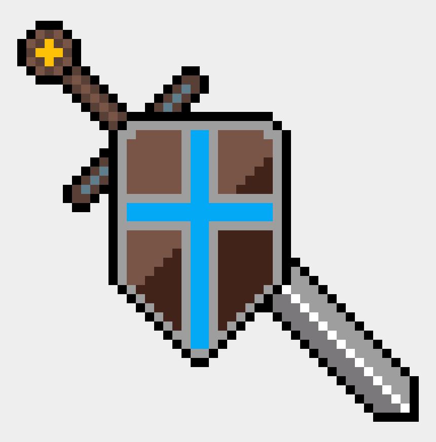 sword and shield clip art, Cartoons - Microfono Hama Beads