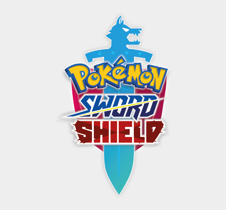 sword and shield clip art, Cartoons - Pokemon Sword Shield Logo