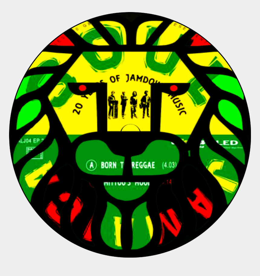 jamaica clip art, Cartoons - #jamaica #lion #reggae #soul #record #doubleexposure - Circle
