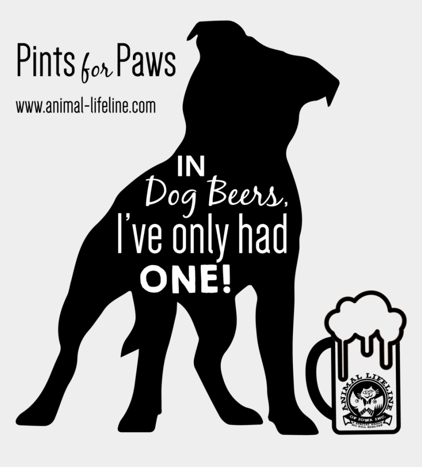 puppy paws clip art, Cartoons - Dogbeers Logo-01 - Silhouette American Bulldog Clipart