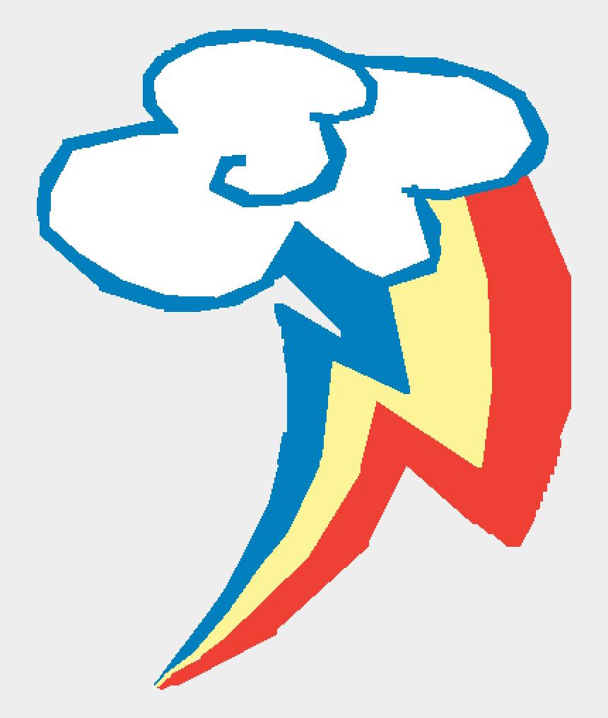rainbow dash clip art, Cartoons - My Little Pony Cutie Mark Rainbow Dash