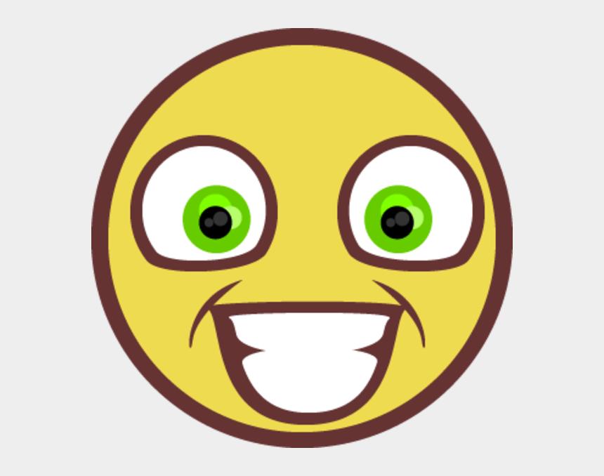 sarcastic clip art, Cartoons - Smiley Face Emoticon Yellow Facial Expression Smile - Rape Face