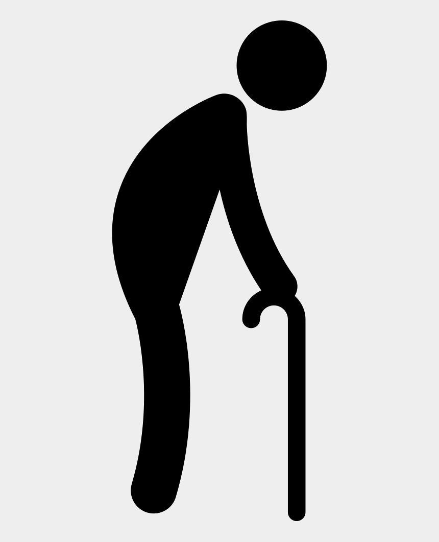 man walking clip art, Cartoons - Walking Old Man Icon