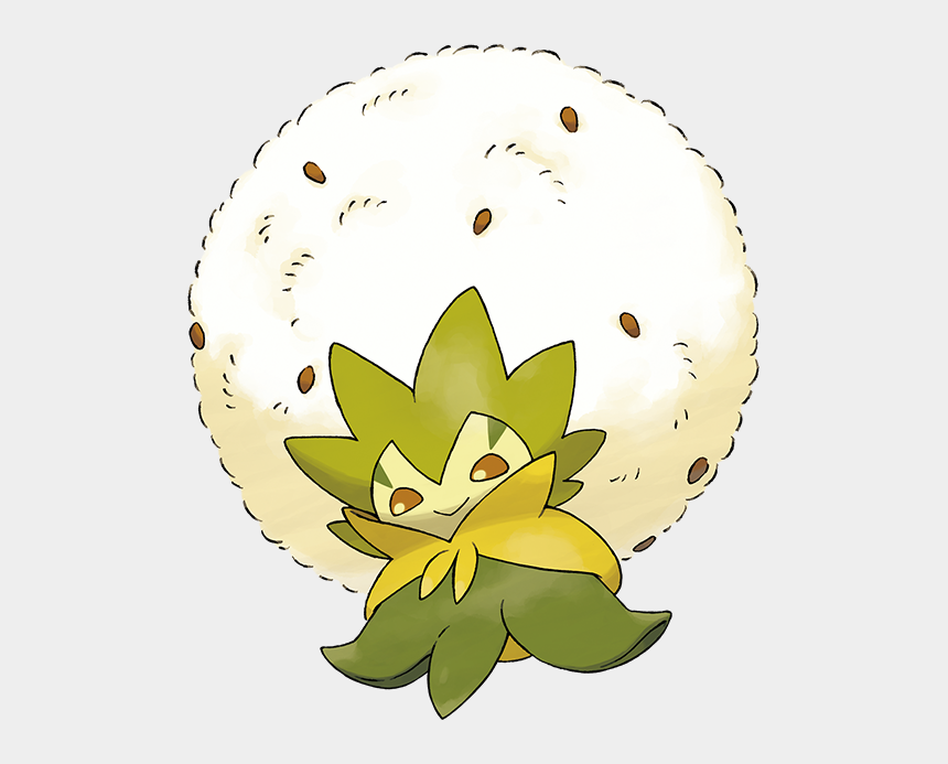 water lilly clip art, Cartoons - Anime, Game Freak, Pokémon Sword & Shield, Pokémon, - Pokemon Sword And Shield Eldegoss