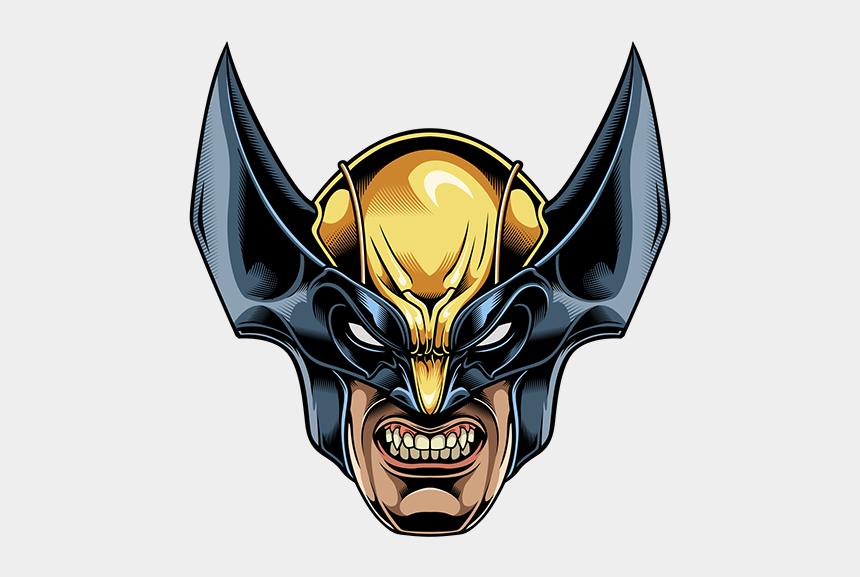 wolverine clip art, Cartoons - Wolverine Head Png