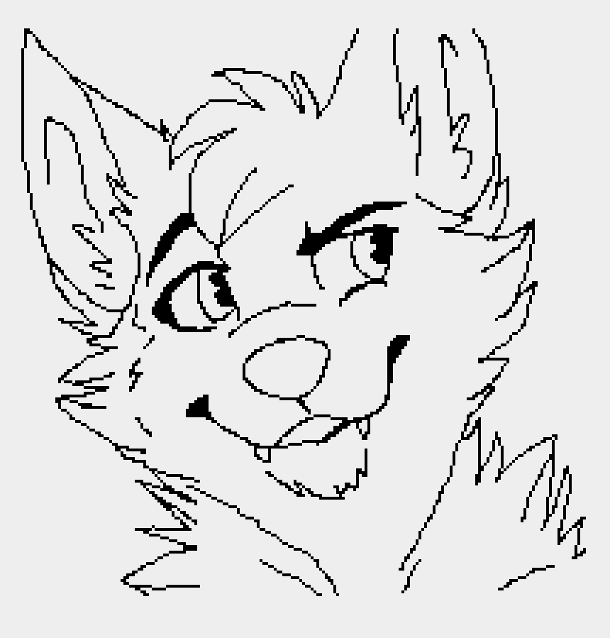 wolf face clip art, Cartoons - Wolf Furry Drawing Base