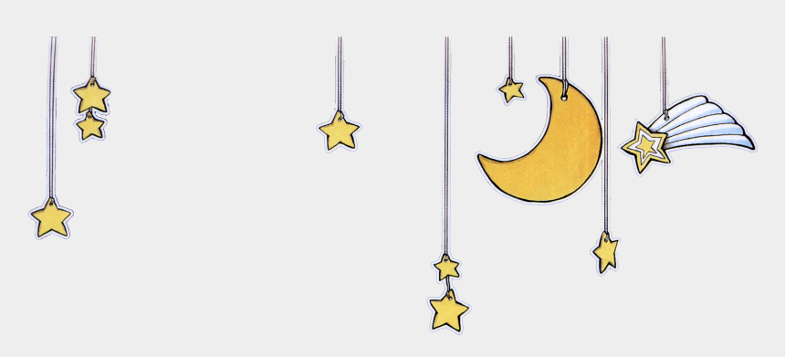 moon stars clipart, Cartoons - Cartoon Moon Star Background Png Download - Stars And Moon Transparent