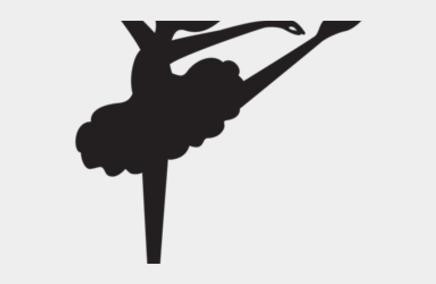 ballerina clipart, Cartoons - Ballerina Clipart Black And White - Little Girl Ballerina Silhouette
