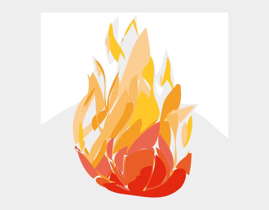 flame clipart, Cartoons - Cartoon Fire Flames Clipart , Png Download - Cartoon Fire Flames
