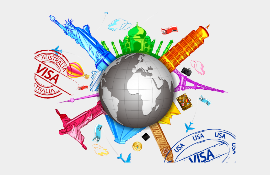 travel clipart, Cartoons - Travel Clipart World Travel - Travel The World Clipart