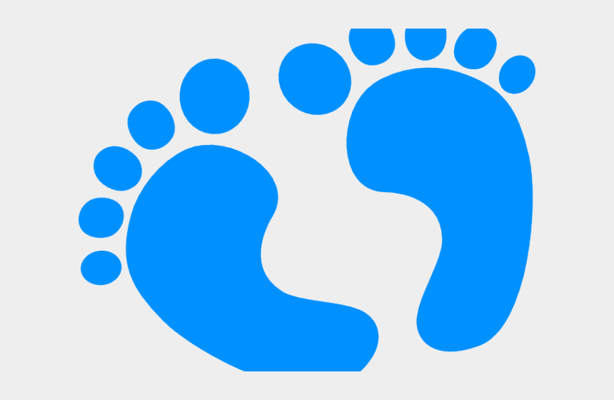 baby boy clipart, Cartoons - Baby Foot Clipart Black And White