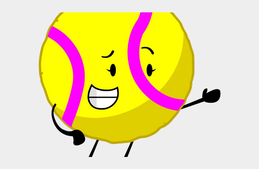tennis clipart, Cartoons - Tennis Clipart Yellow Object - Object Oppose Ball