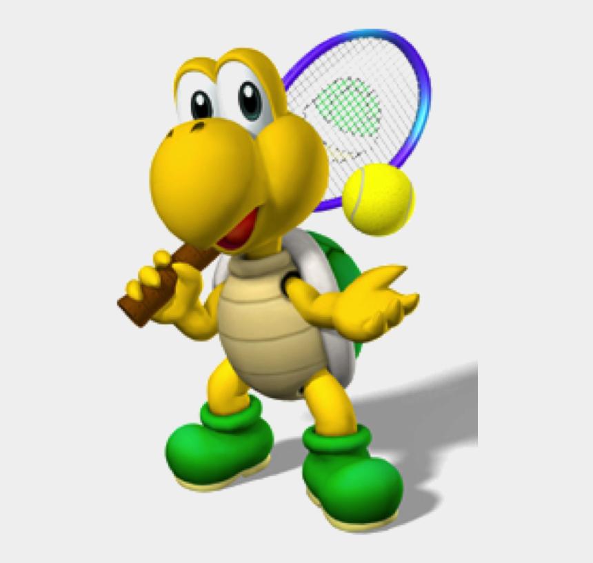tennis clipart, Cartoons - Tennis Turtle - Mario Tennis Aces Koopa Troopa