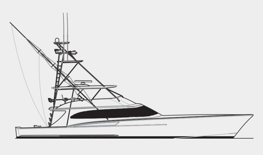 Fishing Boat Clipart Fisher Boat Sportfish Boat Line Drawings Cliparts Cartoons Jing Fm