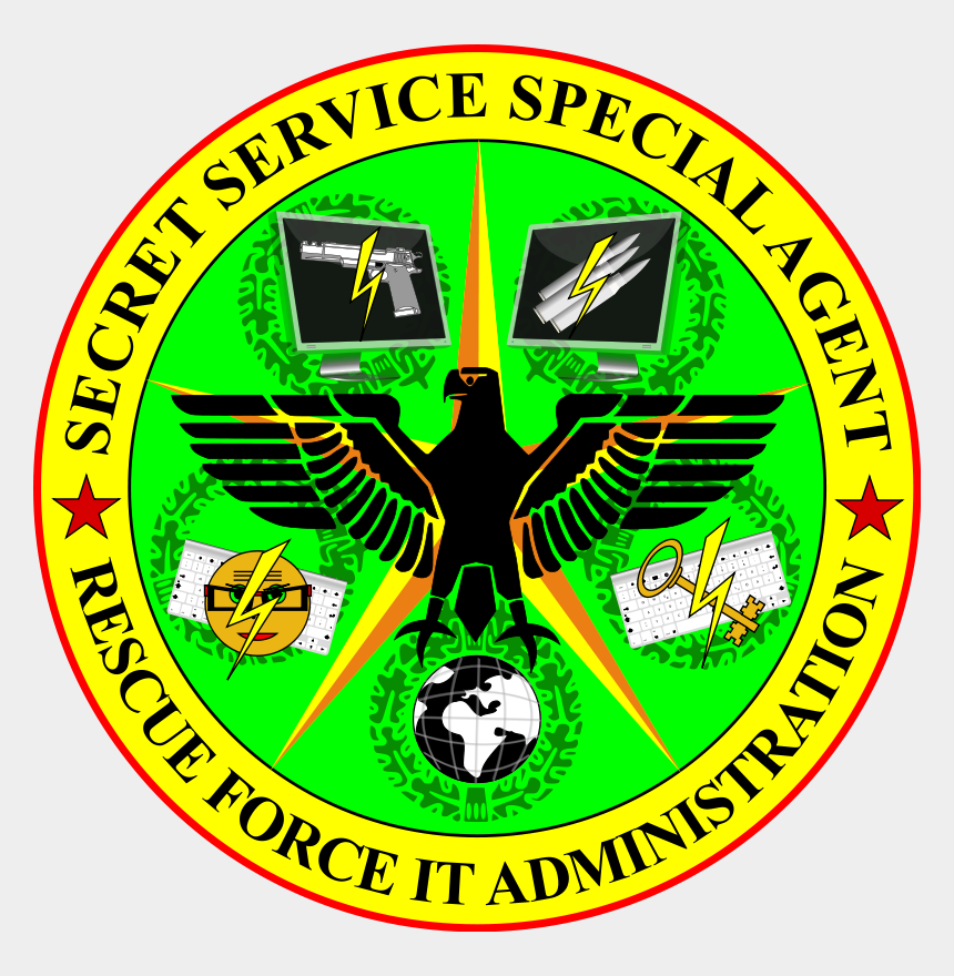 detective clipart, Cartoons - Secret Service Special Agent Rescue Force It Administration - Csa Hockey Helmet Sticker