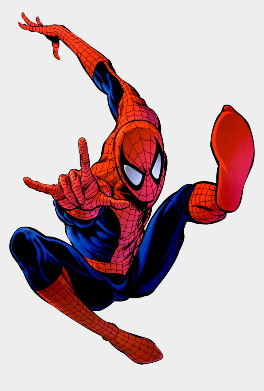 spiderman clipart, Cartoons - Spiderman Clip Art Hostted - Free Comic Book Day 2007 (spider-man)