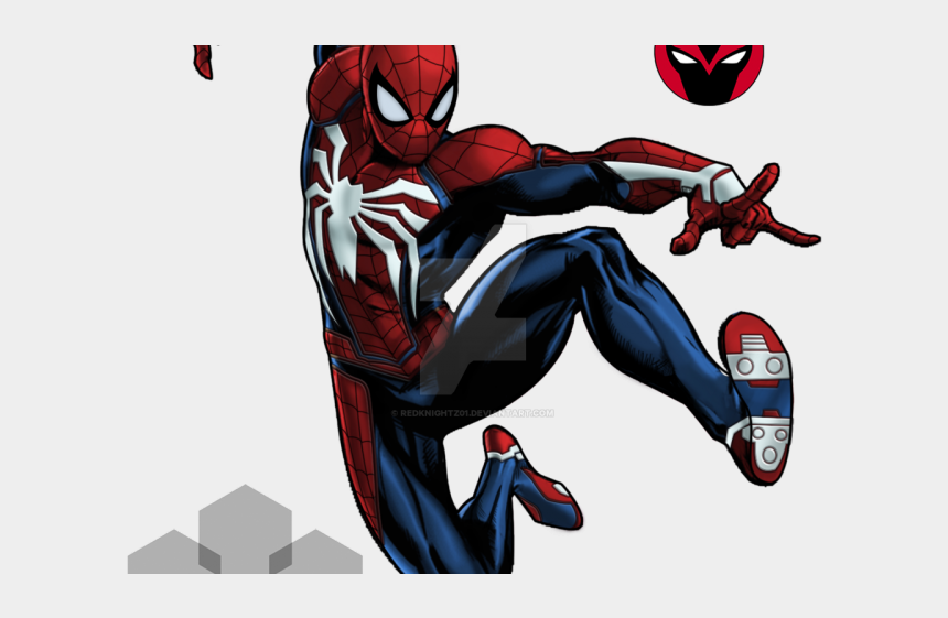spiderman clipart, Cartoons - Spiderman Clipart Spiderman Suit - Marvel Avengers Alliance Spider Man