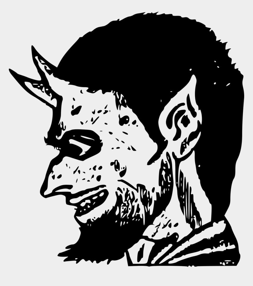 devil clipart, Cartoons - Clipart Transparent Library Devil Clipart Black And - Demon Clip Art