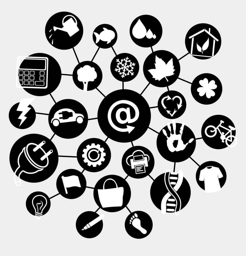 internet clipart, Cartoons - Clipart Internet Of Things All Connected - Internet Of Things Icon Png