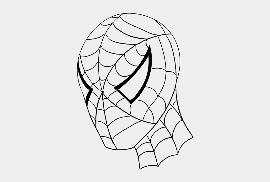 spiderman clipart, Cartoons - Gallery How To Draw Spiderman, - Spider Man Draw Line
