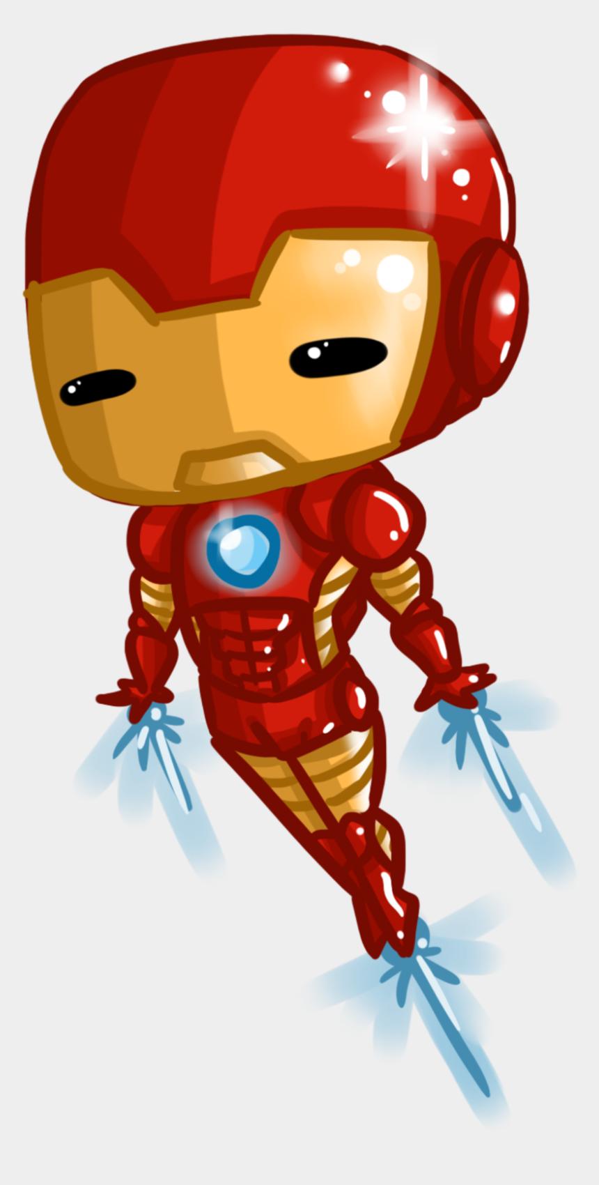 man clipart, Cartoons - Iron Man Tony Stark Clipart Clipartfox - Iron Man Chibi Png