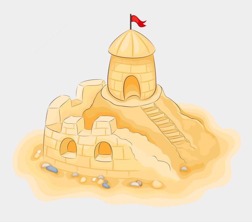 castle clipart, Cartoons - Transparent Sand Castle Clipart Picture - Sand Castle Clipart Free