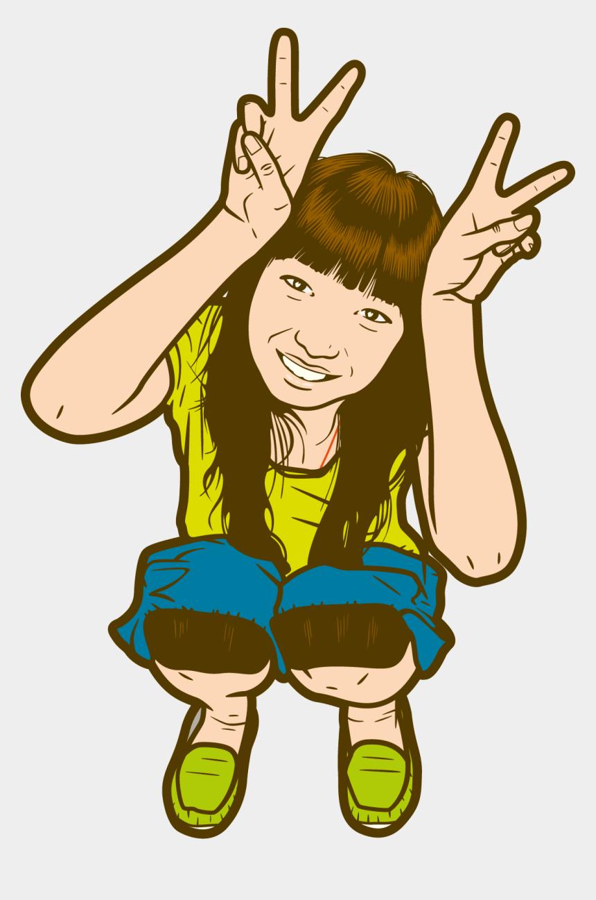 asian girl clip art, Cartoons - Asian Girl Drawing - Drawing Cartoon Asian Girls