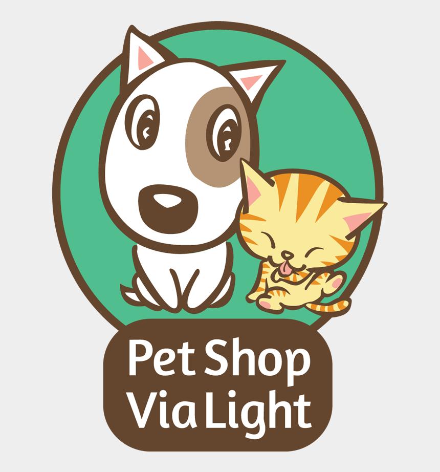 pet shop clip art, Cartoons - Petshop Logo Cat And Dog