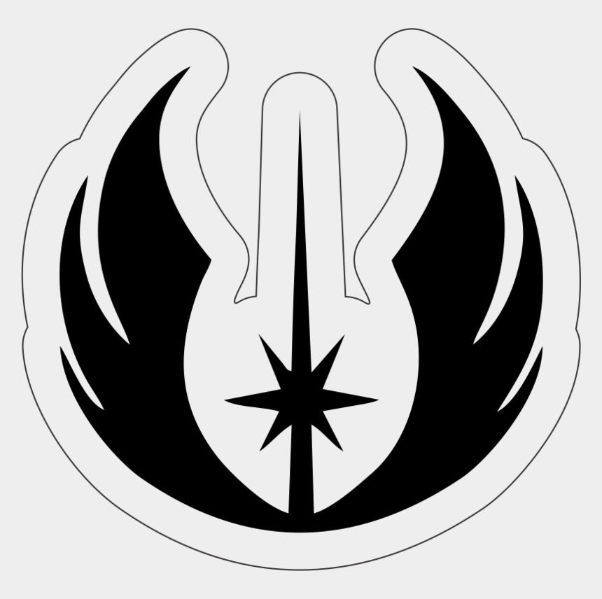 jedi clip art, Cartoons - Star Wars Jedi Academy Symbol
