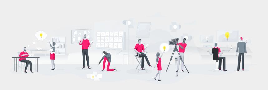 production clip art, Cartoons - Studiobinder All In One Workflow The Production Pre - Pre Production Team