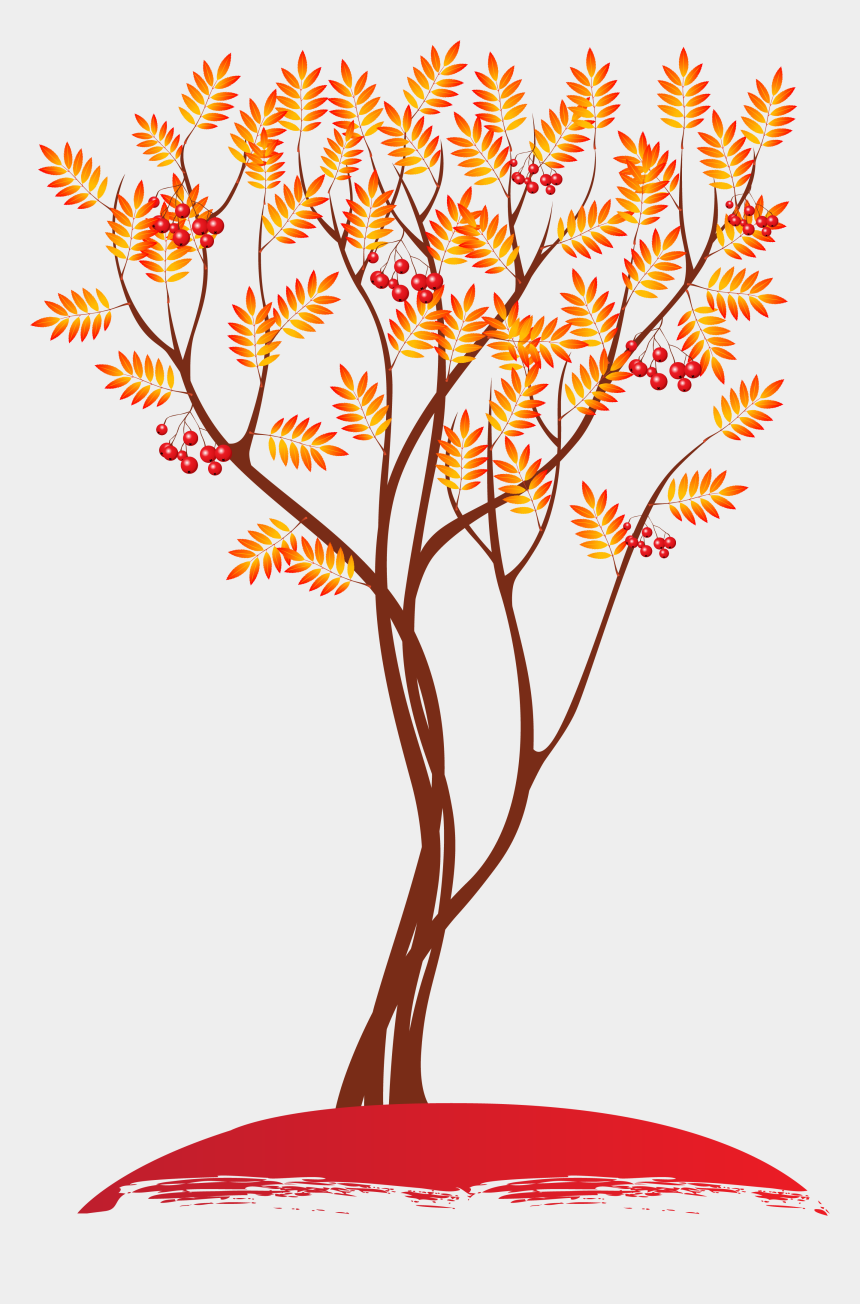 autumn trees clip art, Cartoons - Autumn Tree Clipart