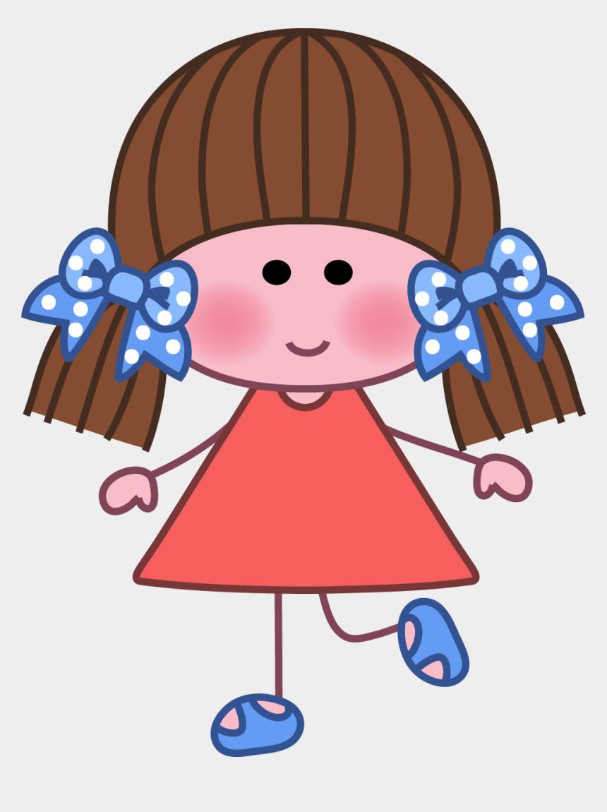school girl clip art, Cartoons - Focus Clipart High School Girl - Dibujo De Una Nena