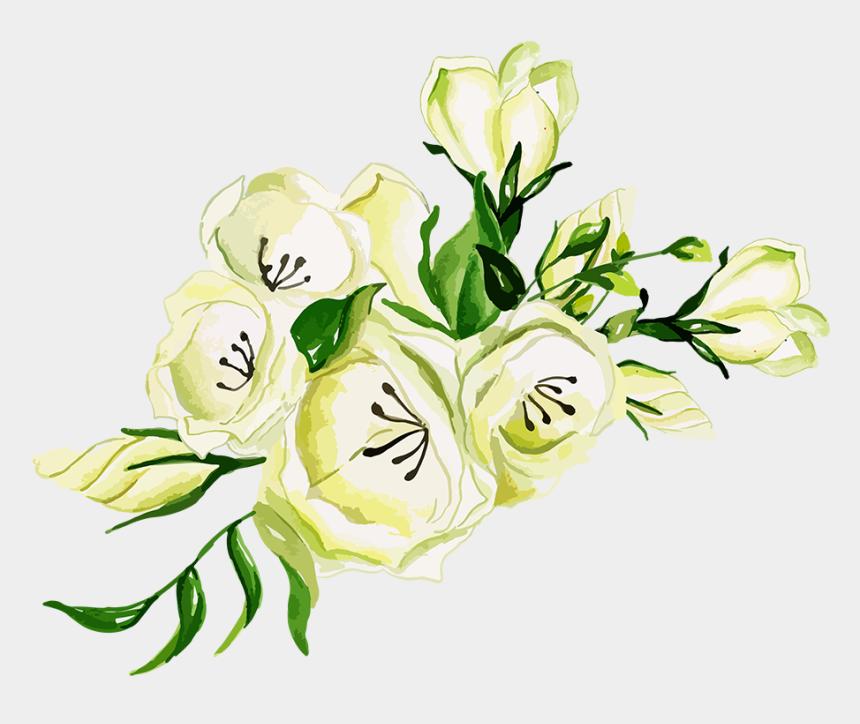 bouquets of flowers clip art, Cartoons - Garden Roses