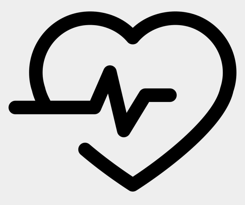 free clip art heart outline, Cartoons - Lifeline In A Heart Outline - Heart Icon Outline Png