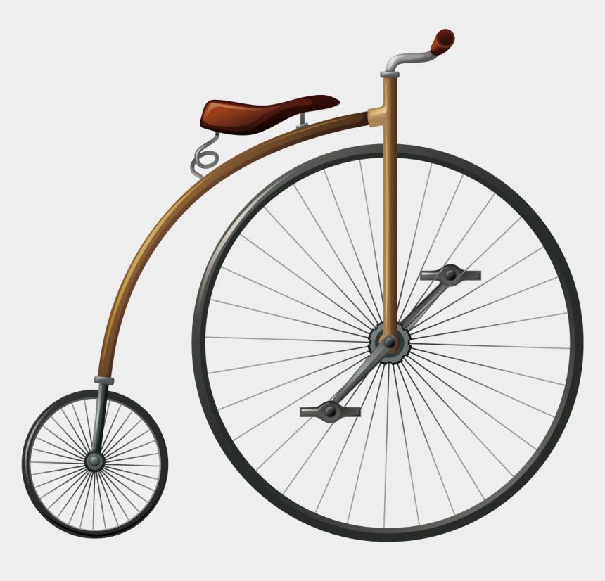 bicycle wheel clip art, Cartoons - Bicycle Wheel Penny-farthing Big Wheel