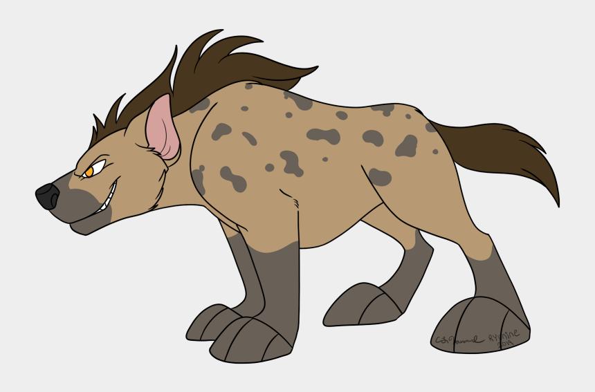 hyena clip art, Cartoons - Spotted Hyena