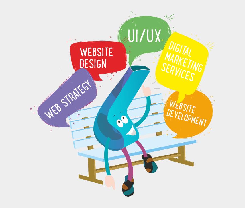 web design clip art, Cartoons - Web Development Services Digitalmarketing Ui Ux Design - Web Design & Development