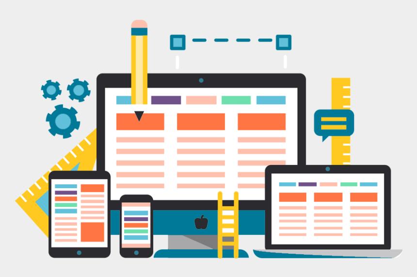 web design clip art, Cartoons - Web Page Designing - Website Design Icon Png
